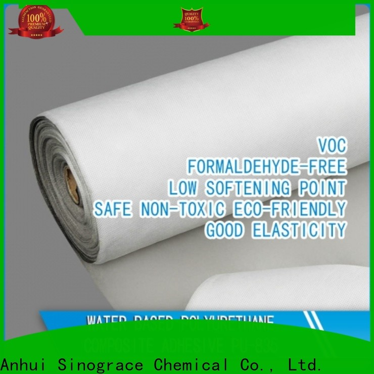 non toxic water based acrylic glue binder for textile