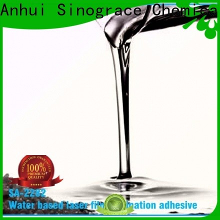 Sinograce Chemical non toxic laminate glue price for chemical