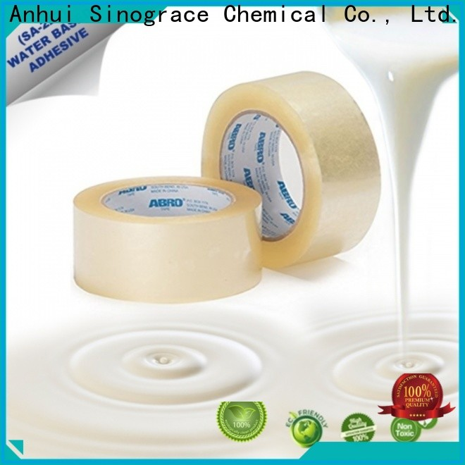 Sinograce Chemical advanced adhesives factory for tape