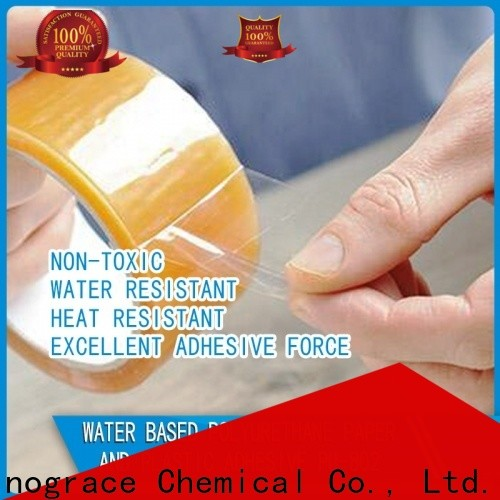Sinograce Chemical high-quality water based acrylic resin paint factory for textile