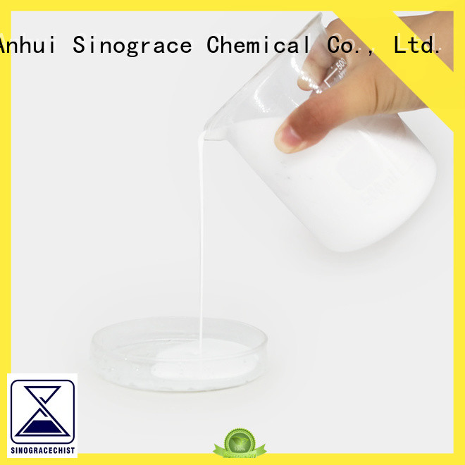 Sinograce Chemical non toxic polyurethane emulsion price for material