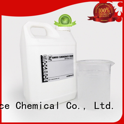 Sinograce Chemical silicone acrylic emulsion adhesive for sale for material