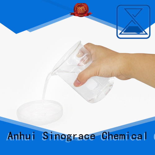 Sinograce Chemical eco-friendly water-based acrylic emulsion supplier for fabric