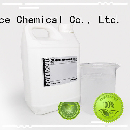 Sinograce Chemical clear water based pu paint for sale for glue