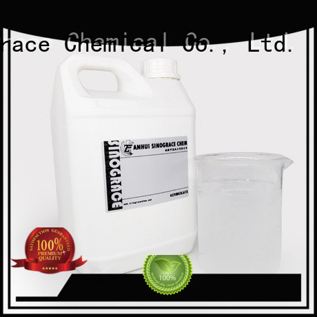 water based rubber adhesive for textile Sinograce Chemical