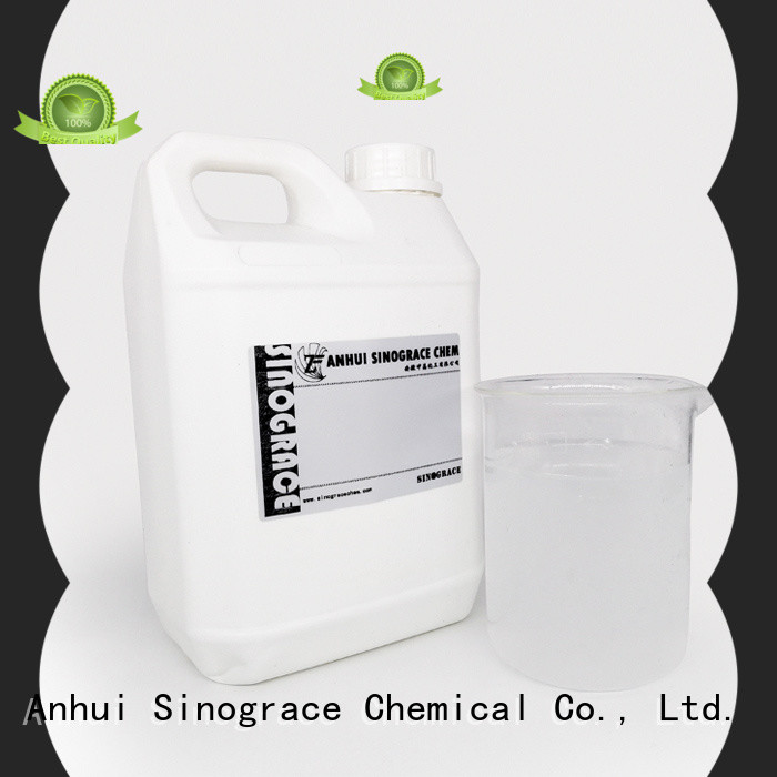 Sinograce Chemical waterproof water based adhesive glue glue for textile