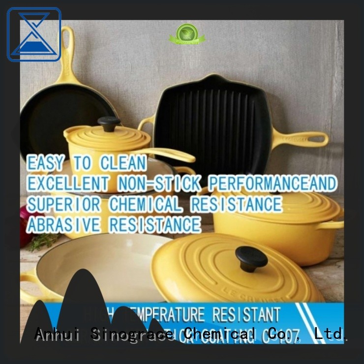 Sinograce Chemical ceramic nonstick cookware supplier for chemical