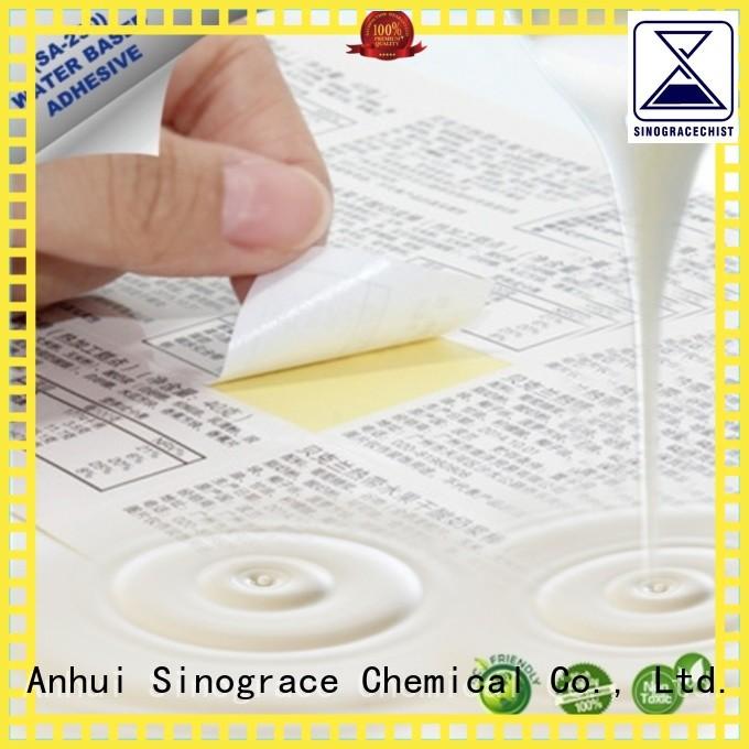 Sinograce Chemical pvc pressure adhesive for carpet