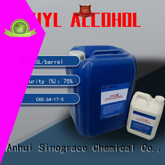 Sinograce Chemical non toxic ethyl alcohol brand for house