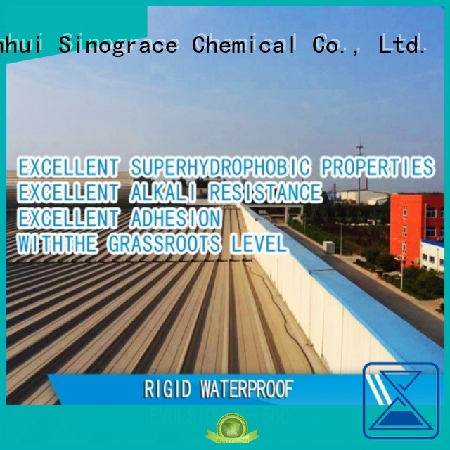Sinograce Chemical non toxic waterproof coatings supplier for chemical