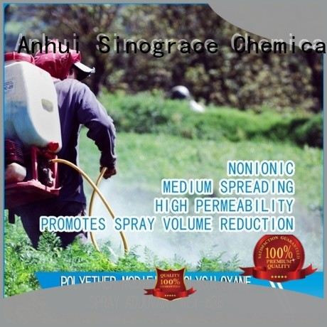 Sinograce Chemical natural lawn wetting agent supplier for lawns