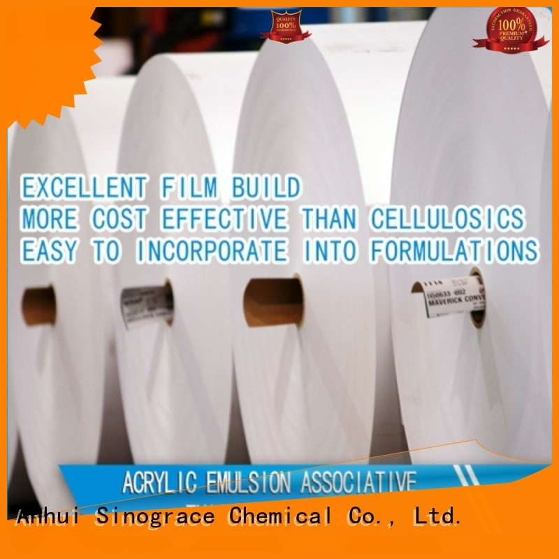 Sinograce Chemical best textile printing thickener for sale for material