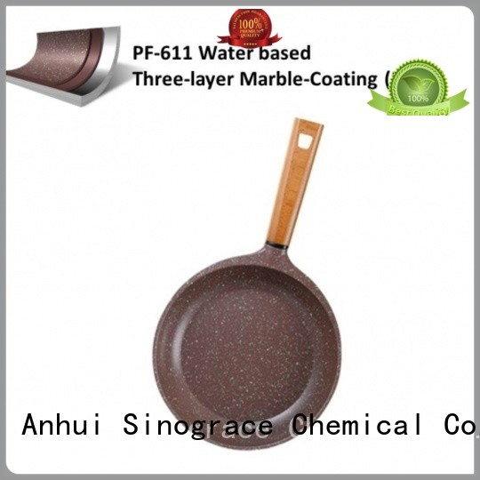 Sinograce Chemical ptfe non stick coating paint supplier for pans