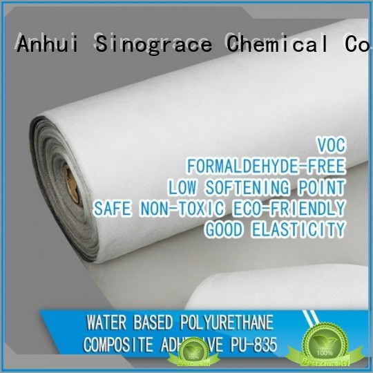 Sinograce Chemical water based wallpaper glue tape for textile