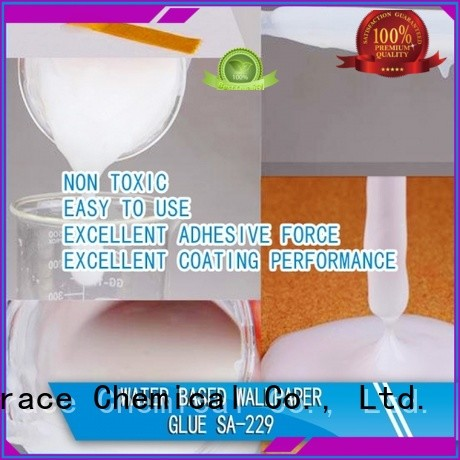 Sinograce Chemical non toxic water based wallpaper glue glue for footwear