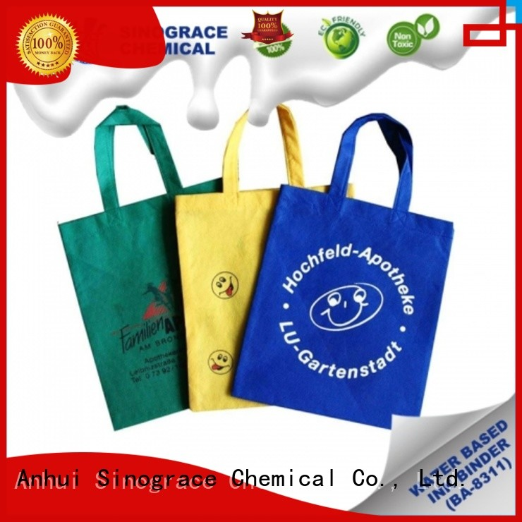 Sinograce Chemical best Water-Based Emulsion For Fabric Ink supplier For nylon Ink