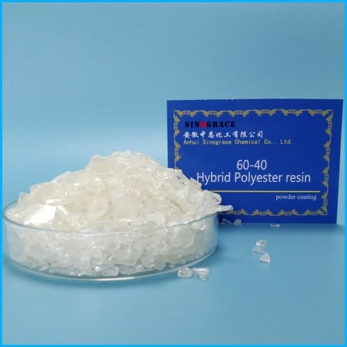 60/40 Hydrid Polyster Resin For Powder Coating