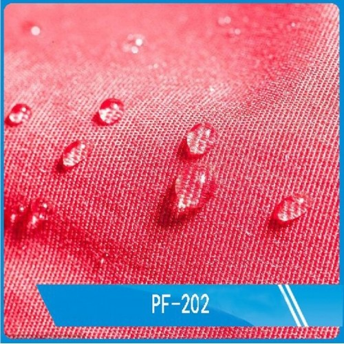 Water based water and oil-repellent coating PF-202