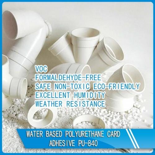 Water Based Polyurethane Card Adhesive PU-840