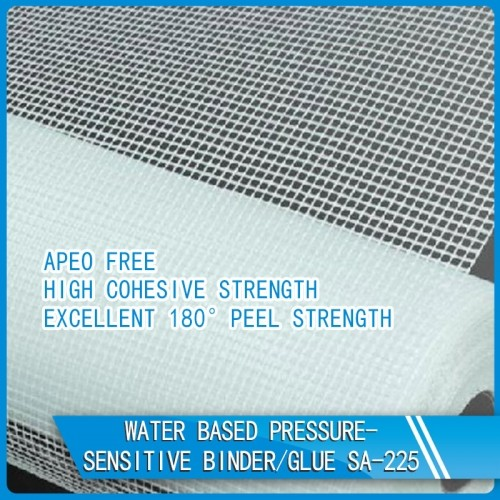 Water Based Pressure-Sensitive Glue For Fiberglass Mesh SA-225