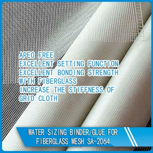 Water Based Positioning Adhesive For Fiberglass Mesh SA-2064
