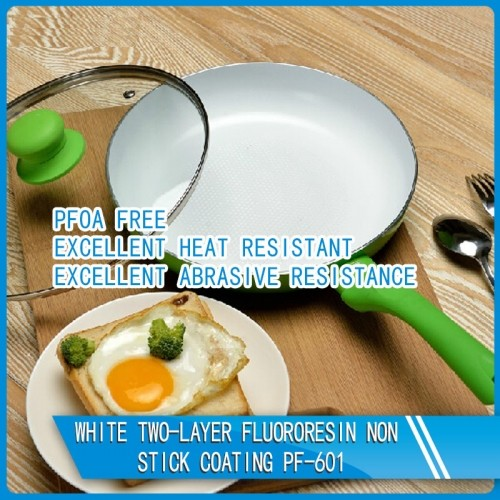 White two-layer fluororesin non-stick coating PF-601