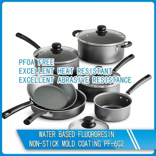 Water based fluororesin non-stick mold coating PF-602