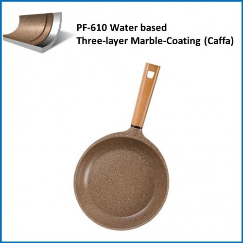 Teflon Coatings/ Water based Three-layer Marble-Coating (Caffa) PF-610