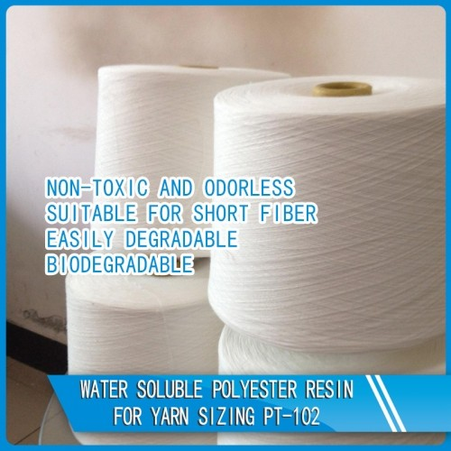 Water Soluble Polyester Resin For Yarn Sizing PT-102