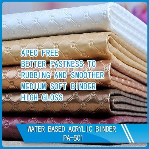 WATER BASED ACRYLIC BINDER PA-501