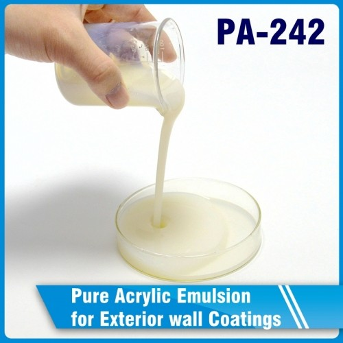 PA-242 Pure Acrylic Emulsion for Exterior wall Coatings