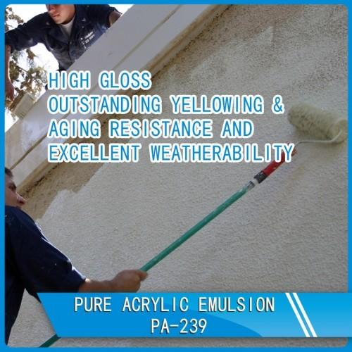 Pure Acrylic Emulsion PA-239