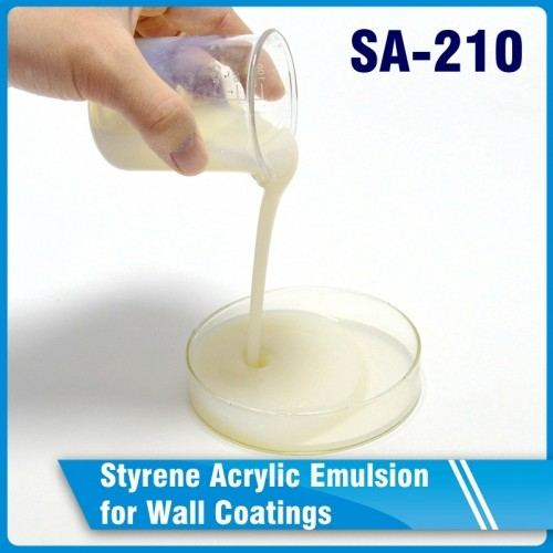 SA-210 Styrene Acrylic Emulsion for Wall Coatings