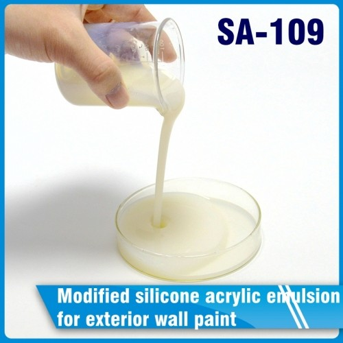 SA-109 Modified silicone acrylic emulsion for exterior wall paint