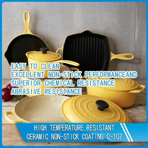 C-107 High Temperature Resistant Ceramic Non-Stick Coating