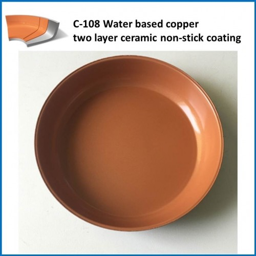 C-108 Water Based Copper Two Layer Ceramic Non-Stick Coating