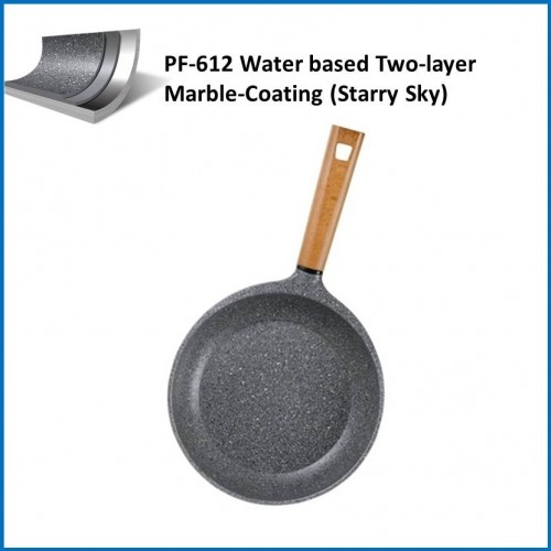 Non-stick Coatings PF-612 Water based Three-layer Marble-Coating (Starry Sky)