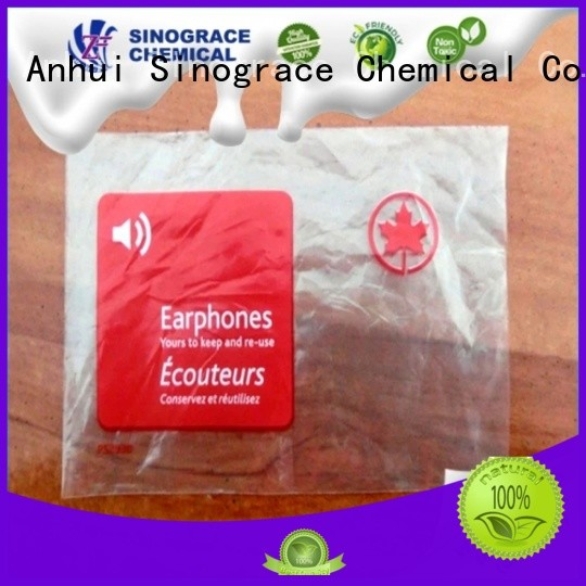 Sinograce Chemical non toxic custom binders price for chemical