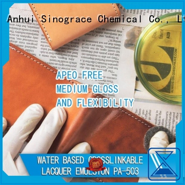 Sinograce Chemical styrene acrylic binder supplier for making