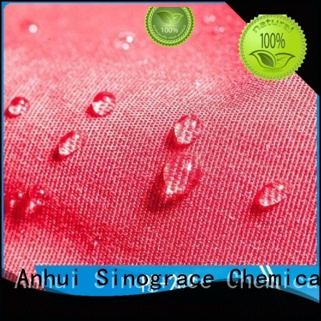 Sinograce Chemical nanotechnology waterproofing spray for sale for clothes