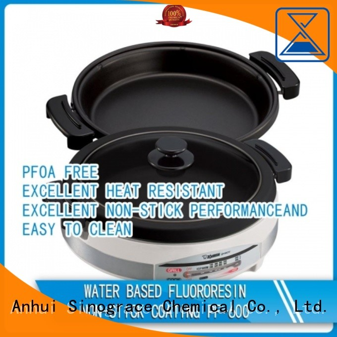 Sinograce Chemical ptfe non stick coating paint supplier for cooking