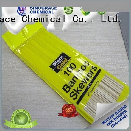 Sinograce Chemical water-based acrylic emulsion for sale for pvc