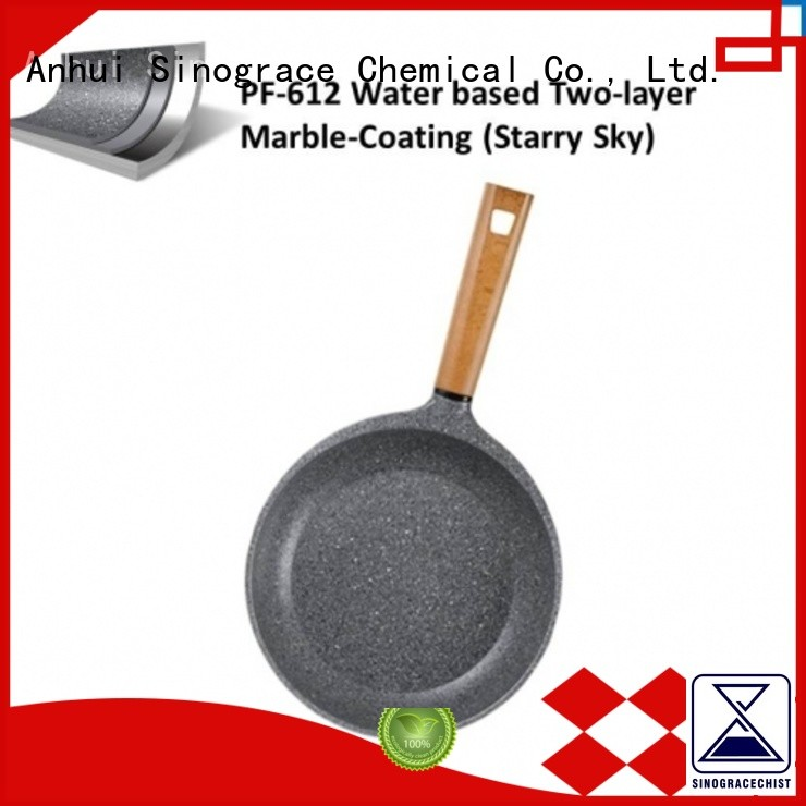 Sinograce Chemical non stick ceramic coating supplier for cookware
