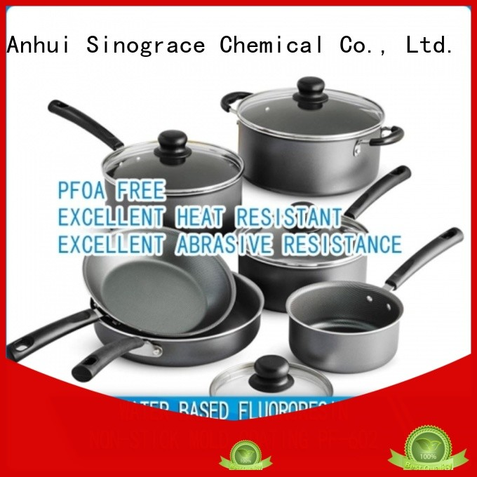Sinograce Chemical ceramic non stick coating for cookware for sale for cookware