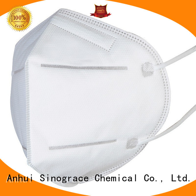 Sinograce Chemical custom pm 2.5 mask manufacturer for anti virus