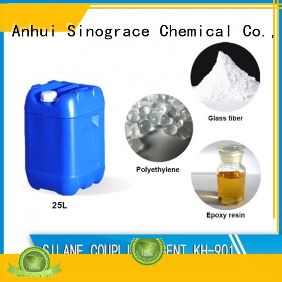 Sinograce Chemical aluminate epoxy silane coupling agent manufacturer for chemical