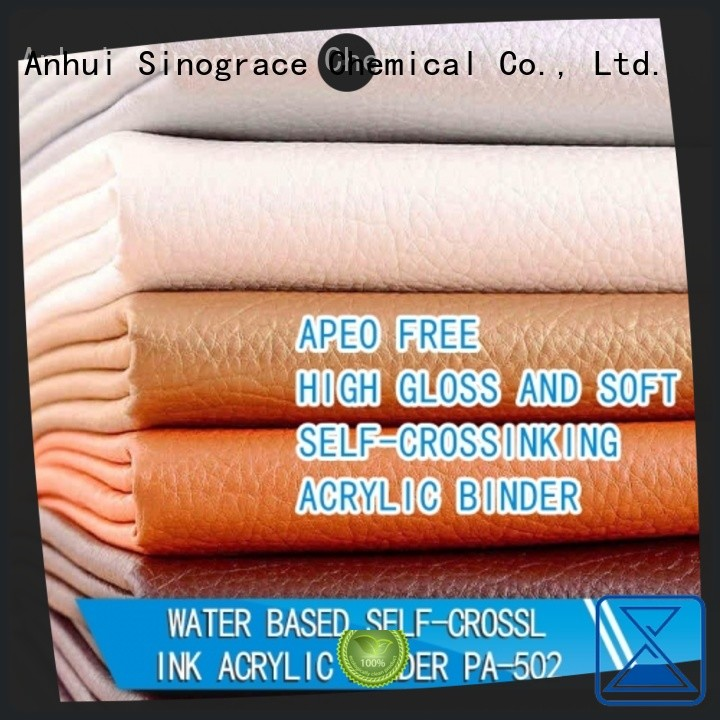 Sinograce Chemical textile acrylic binder supplier for material