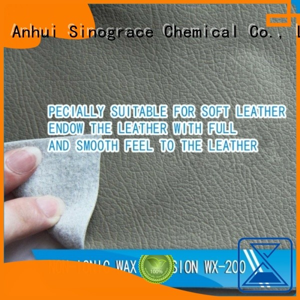 Sinograce Chemical carnauba wax emulsion supplier for chemical