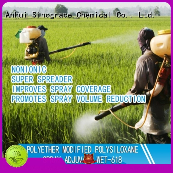 Sinograce Chemical best herbicide wetting agent manufacturer for chemical