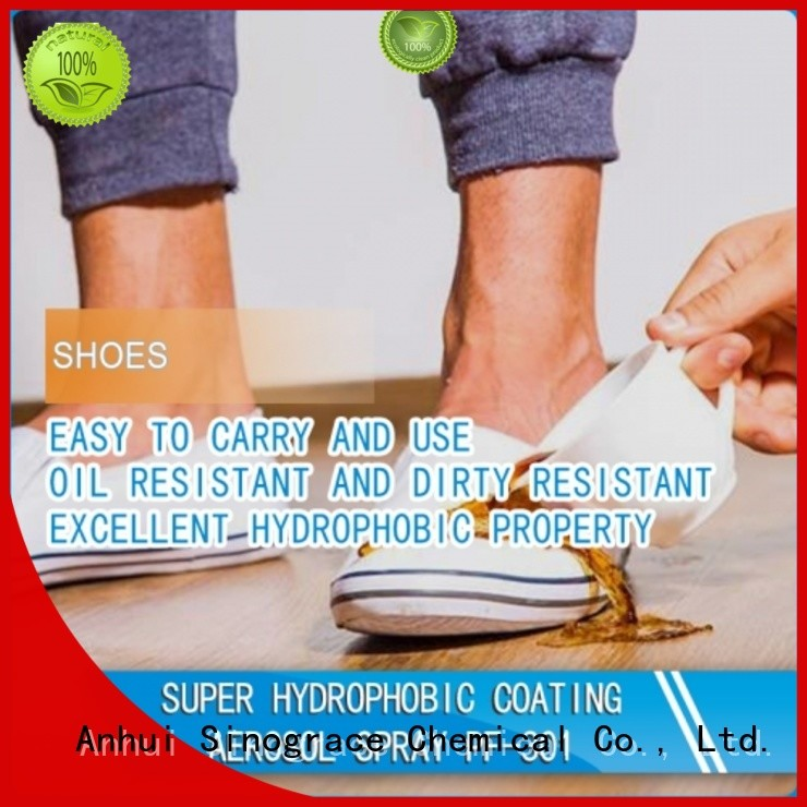 Sinograce Chemical nanotechnology waterproofing spray price for boots